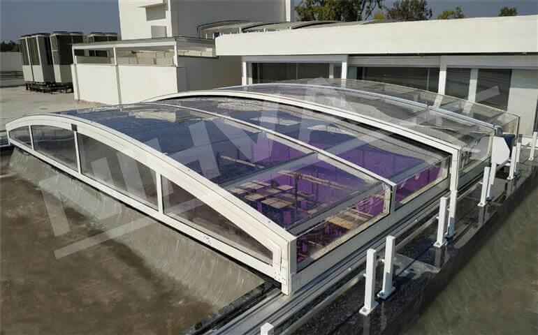 automatic sliding roof